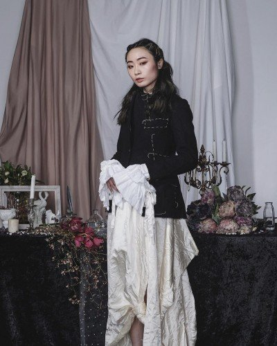 UNIXPACE Artist Veron Chan hair styling for Elena Dawson FW18 Collection 03